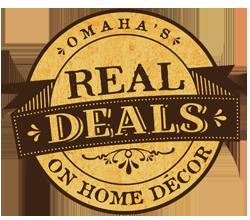 real deals on home decor, omaha, nebraska