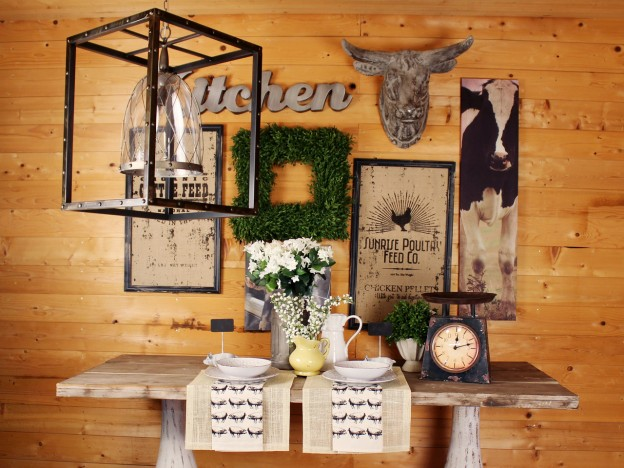Farmhouse charm real deals on home decor for Home decor inc 6650 tomken road