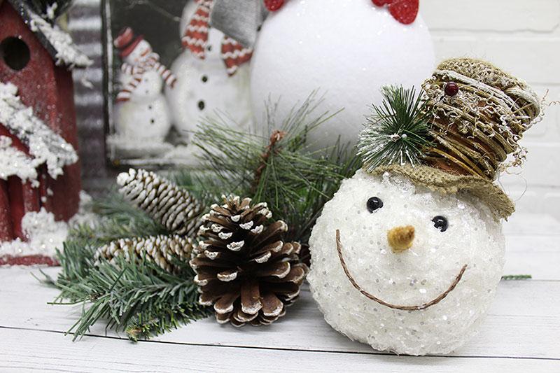 Winter trends snowman