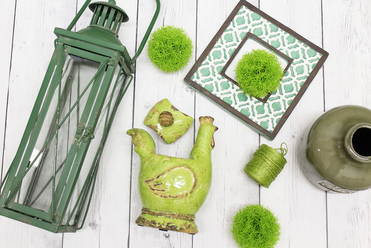 We re green with envy real deals on home decor for Real deals on home decor