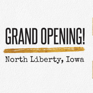 North Liberty, Iowa Reopening Feb 1st!