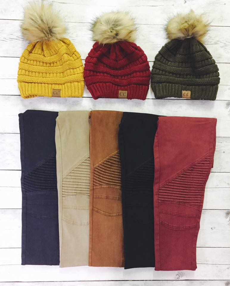 Cc Beanies And Motto Jeggings