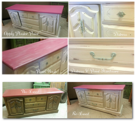Plaster Painted Furniture
